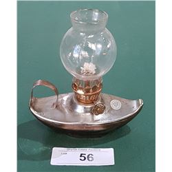 VINTAGE TIN OIL LAMP