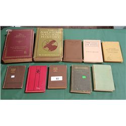 10 VINTAGE/ANTIQUE HARDCOVER BOOKS