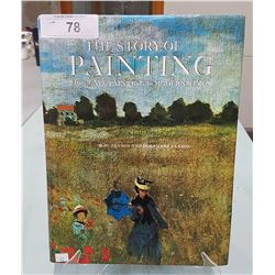 THE STORY OF PAINTING HARDCOVER BOOK