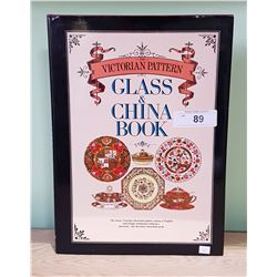 THE VICTORIAN PATTERN GLASS & CHINA HARDCOVER BOOK