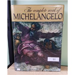 THE COMPLETE WORK OF MICHELANGELO HARDCOVER OOK