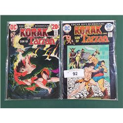 2 KORAK SON OF TARZAN 20 CENT COMICS