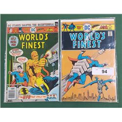 WORLD'S FINEST COMICS #235 & #239