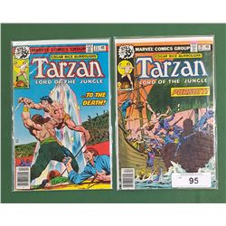 2 TARZAN LORD OF THE JUNGLE COMICS #19 DEC & #23 APR