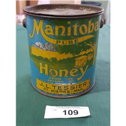 1920'S MANITOBA HONEY TIN