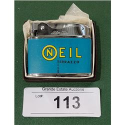 "VINTAGE ""NEW OLD STOCK"" LIGHTER FROM ONEIL TERAZZO TILE"