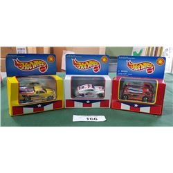 3 COLLECTOR HOTWHEELS PUERO RICO DIE CAST CARS UNOPENED