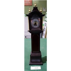 GRANDFATHER STYLE MANTLE CLOCK