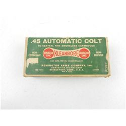REMINGTON 45 AUTO COLT AMMO