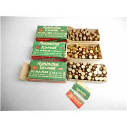 REMINGTON 30 MAUSER AMMO
