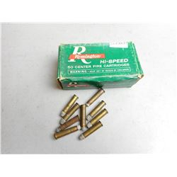 ASSORTED ANTIQUE 32-20 AMMO & BRASS