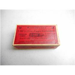 WINCHESTER 7.65MM (30 CAL) LUGER AMMO