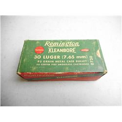 REMINGTON 30 LUGER (7.65MM) AMMO