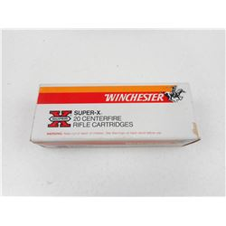WINCHESTER 222 REM AMMO