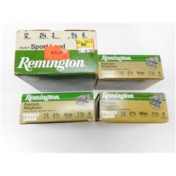 "REMINGTON 12 GA 2 3/4"" AMMO"