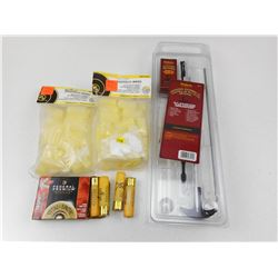FEDERAL 20 GA AMMO, SHOTGUN WADS & CLEANING KIT