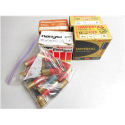 "ASSORTED 12 CAL 2 3/4"" SHOTGUN AMMO"