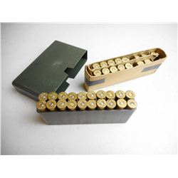 ASSORTED 45-70 AMMO/RELOADS & BRASS