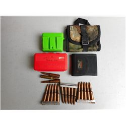 7.62 X 54 R AMMO AND ASSORTED AMMO CASES