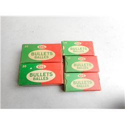 ASSORTED CIL BULLETS & 222R RELOADS