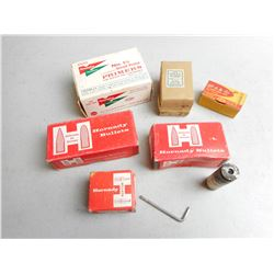 ASSORTED PRIMERS BULLETS & GAS CHECKS
