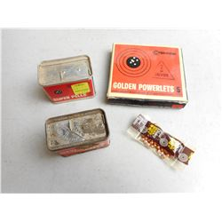 VINTAGE CROSMAN SUPER PELLS & POWERLETS