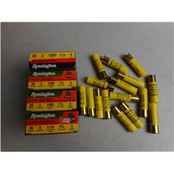 "REMINGTON 20 GA 3"" AMMO"
