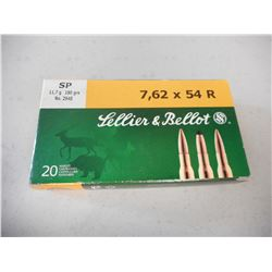 SELLIER & BELLOT 7.62X54R AMMO