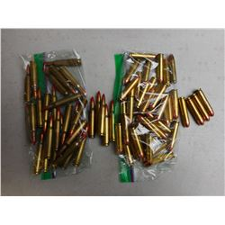ASSORTED 223 REM & 30 CARBINE AMMO
