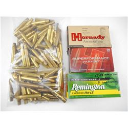 ASORTED 30-06 & 22-250 BRASS
