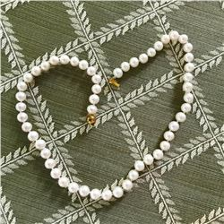 """7mm Akoya Pearls 18"""" Necklace"""