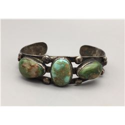 3 Stone Fred Harvey Era Bracelet
