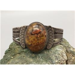 Petrified Wood Fred Harvey Bracelet