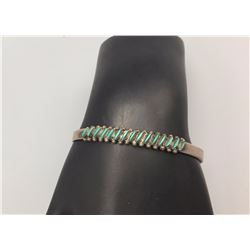 Fred Harvey Era Zuni Needle Point Bracelet