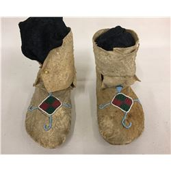 Early 1900s Plateau Kids Moccasins