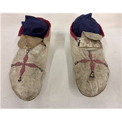Early 1900s Plateau Moccasins
