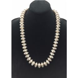 Heavy! Indian Head Nickel Bead Necklace