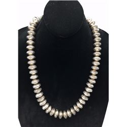 Heavy! Buffalo Nickel Bead Necklace