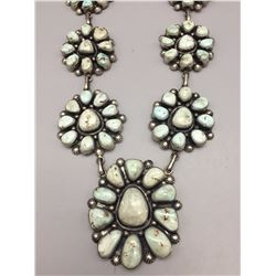 Nice! Turquoise Cluster Necklace - Dry Creek (Item Featured on WTP TV)