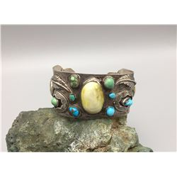 Large Multistone Bracelet