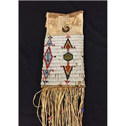 Antique Plains Indian Beaded Pipe Bag