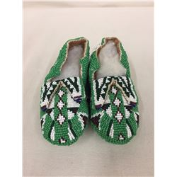 Fully Beaded Kids Moccasins - Nice!