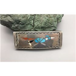 Inlay Road Runner Belt Buckle
