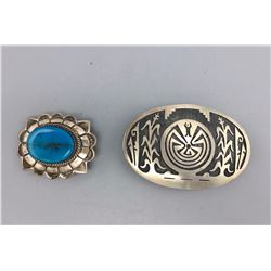 Native American Style Belt Buckles