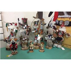 Group of Navajo Folk Art Dolls