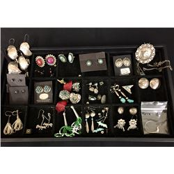 Group of Misc. Earrings and Other Jewelry