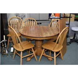 dining table with insert semi contemporary oak center pedestal dining table with insert leaf and ball claw base leaf