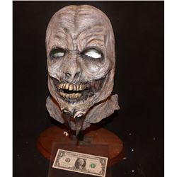 HORNED DEMON ALIEN GHOUL FULL HEAD WEARABLE MASK