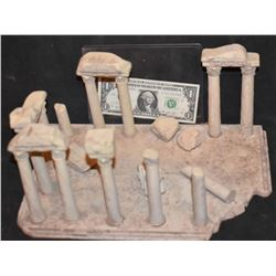 MINIATURE ANCIENT GREEK ROMAN RUINS FROM CRANT MCCUNE ARCHIVES 3