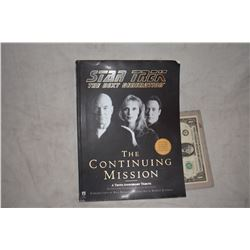 ZZ-CLEARANCE STAR TREK THE CONTINUING MISSION BOOK